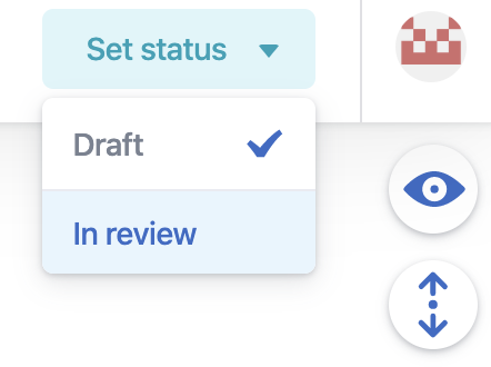 in review status